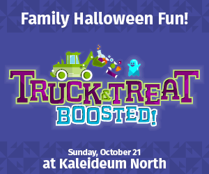Kaleideum's Truck & Treat Is BOOsted in 2018!