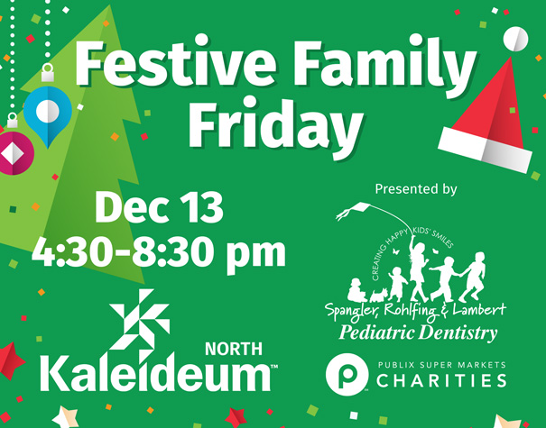Kaleideum Is Mixing It Up at Festive Family Friday 2019