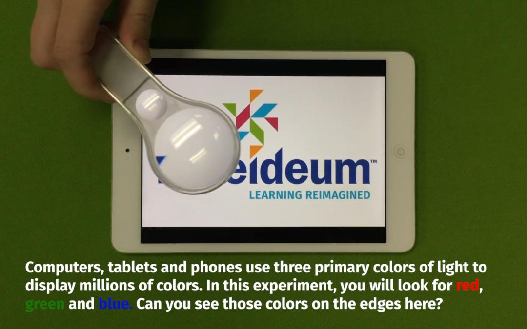 Three Color Light Experiment