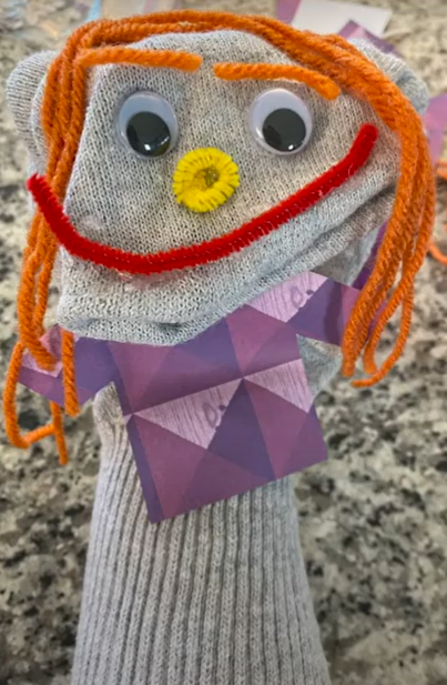 How to Make Your Own Sock Puppet!
