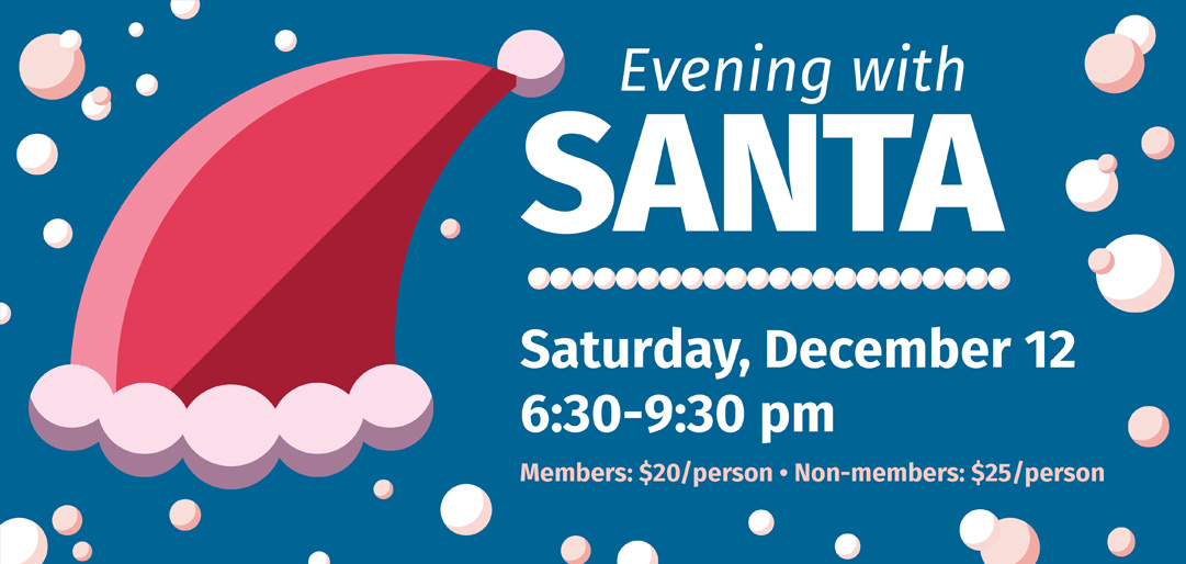 Evening with Santa at Kaleideum North December 12
