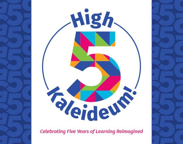 High Five Kaleideum during July!